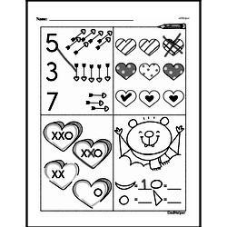 Free First Grade Number Sense PDF Worksheets Worksheet #145