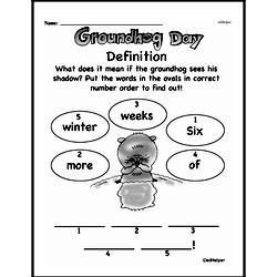 Free First Grade Number Sense PDF Worksheets Worksheet #72