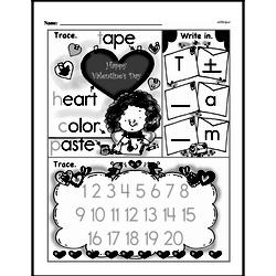 Free First Grade Number Sense PDF Worksheets Worksheet #148