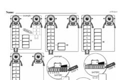 Free First Grade Number Sense PDF Worksheets Worksheet #126