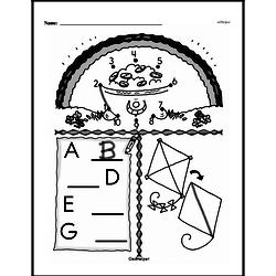 Free First Grade Number Sense PDF Worksheets Worksheet #147