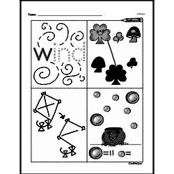 Free First Grade Number Sense PDF Worksheets Worksheet #133