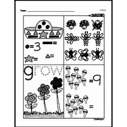 Free First Grade Number Sense PDF Worksheets Worksheet #120