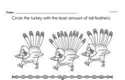 Free First Grade Number Sense PDF Worksheets Worksheet #106
