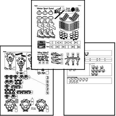 Number Sense - Numbers 0-10 Workbook (all teacher worksheets - large PDF)