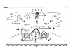 Free First Grade Number Sense PDF Worksheets Worksheet #107