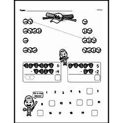 Free First Grade Number Sense PDF Worksheets Worksheet #6