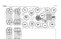 Free First Grade Number Sense PDF Worksheets Worksheet #62
