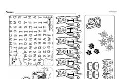 Free First Grade Number Sense PDF Worksheets Worksheet #20