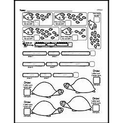 Free First Grade Number Sense PDF Worksheets Worksheet #24