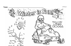 Free First Grade Number Sense PDF Worksheets Worksheet #100