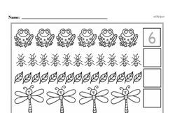 Free First Grade Number Sense PDF Worksheets Worksheet #60