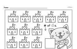 Free First Grade Number Sense PDF Worksheets Worksheet #18