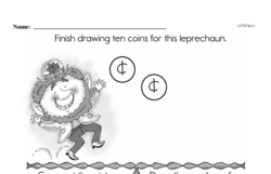 Free First Grade Number Sense PDF Worksheets Worksheet #57