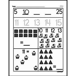 Free First Grade Number Sense PDF Worksheets Worksheet #46