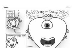 Free First Grade Number Sense PDF Worksheets Worksheet #27