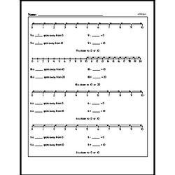 Free First Grade Number Sense PDF Worksheets Worksheet #2