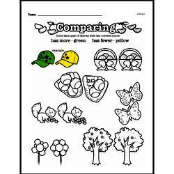 Free First Grade Number Sense PDF Worksheets Worksheet #50