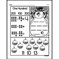 Free First Grade Number Sense PDF Worksheets Worksheet #13
