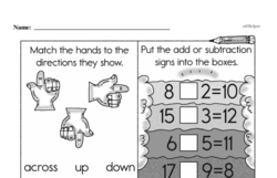Free First Grade Number Sense PDF Worksheets Worksheet #15