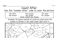 Free First Grade Number Sense PDF Worksheets Worksheet #71