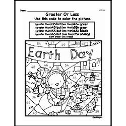 Free First Grade Number Sense PDF Worksheets Worksheet #8