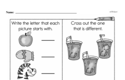 Free First Grade Number Sense PDF Worksheets Worksheet #82