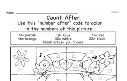 Free First Grade Number Sense PDF Worksheets Worksheet #59