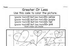 Free First Grade Number Sense PDF Worksheets Worksheet #67