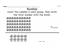 Free First Grade Number Sense PDF Worksheets Worksheet #51