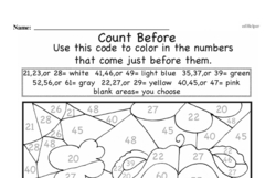 Free First Grade Number Sense PDF Worksheets Worksheet #54