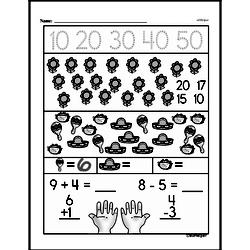 Free First Grade Number Sense PDF Worksheets Worksheet #63