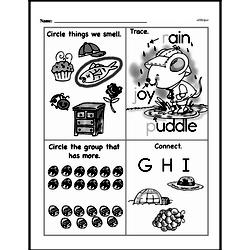 Free First Grade Number Sense PDF Worksheets Worksheet #36