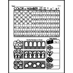 Free First Grade Number Sense PDF Worksheets Worksheet #9