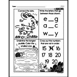Free First Grade Number Sense PDF Worksheets Worksheet #239