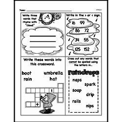 Free First Grade Number Sense PDF Worksheets Worksheet #240