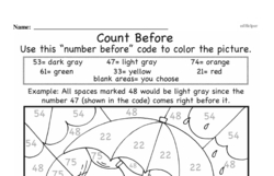 Free First Grade Number Sense PDF Worksheets Worksheet #198