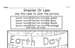 Free First Grade Number Sense PDF Worksheets Worksheet #186