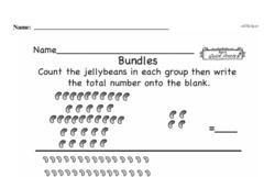 Free First Grade Number Sense PDF Worksheets Worksheet #208