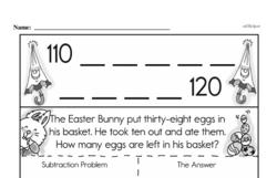 Free First Grade Number Sense PDF Worksheets Worksheet #251