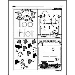 Free First Grade Number Sense PDF Worksheets Worksheet #136