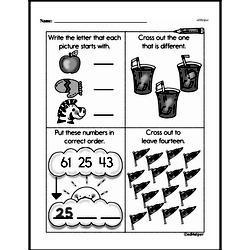 Free First Grade Number Sense PDF Worksheets Worksheet #236