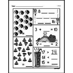 Free First Grade Number Sense PDF Worksheets Worksheet #176