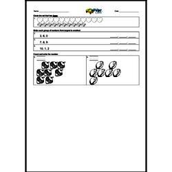 Counting 0-9 and Ordering Numbers 0-10.