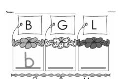 Free First Grade Number Sense PDF Worksheets Worksheet #108