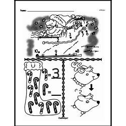 Free First Grade Number Sense PDF Worksheets Worksheet #134