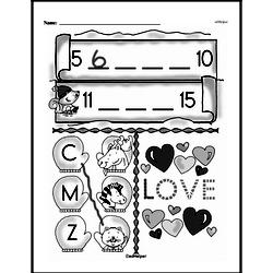 Free First Grade Number Sense PDF Worksheets Worksheet #140