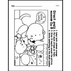Free First Grade Number Sense PDF Worksheets Worksheet #159