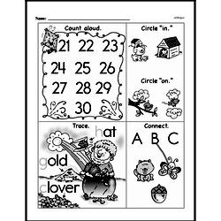 Free First Grade Number Sense PDF Worksheets Worksheet #243