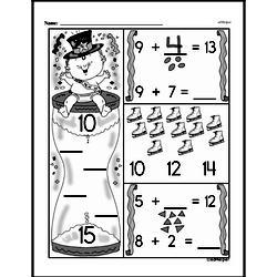 Free First Grade Number Sense PDF Worksheets Worksheet #167